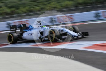 World © Octane Photographic Ltd. Williams Martini Racing FW37 – Felipe Massa. Friday 27th November 2015, F1 Abu Dhabi Grand Prix, Practice 1, Yas Marina. Digital Ref: 1477CB1L5183