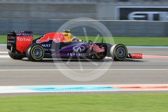 World © Octane Photographic Ltd. Infiniti Red Bull Racing RB11 – Daniil Kvyat. Friday 27th November 2015, F1 Abu Dhabi Grand Prix, Practice 1, Yas Marina. Digital Ref: 1477CB1L5240