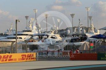 World © Octane Photographic Ltd. Boats. Friday 27th November 2015, F1 Abu Dhabi Grand Prix, Practice 2, Yas Marina. Digital Ref: 1478CB1L5688