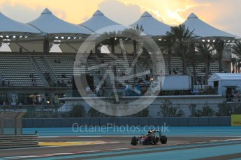 World © Octane Photographic Ltd. McLaren Honda MP4/30 – Fernando Alonso. Friday 27th November 2015, F1 Abu Dhabi Grand Prix, Practice 2, Yas Marina. Digital Ref: 1478CB1L5793