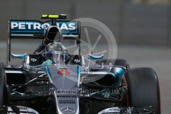 World © Octane Photographic Ltd. Mercedes AMG Petronas F1 W06 Hybrid – Nico Rosberg. Friday 27th November 2015, F1 Abu Dhabi Grand Prix, Practice 2, Yas Marina. Digital Ref: 1478LB1D7548