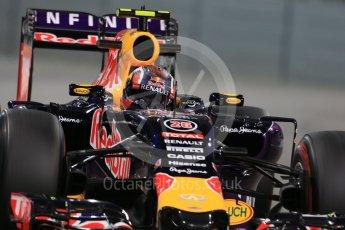 World © Octane Photographic Ltd. Infiniti Red Bull Racing RB11 – Daniil Kvyat. Friday 27th November 2015, F1 Abu Dhabi Grand Prix, Practice 2, Yas Marina. Digital Ref: 1478LB1D7844