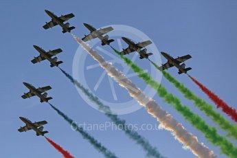"World © Octane Photographic Ltd. Al Fursan ""The Knights"" aerobatic team in their Aermacchi MB 339A. Digital Ref :"
