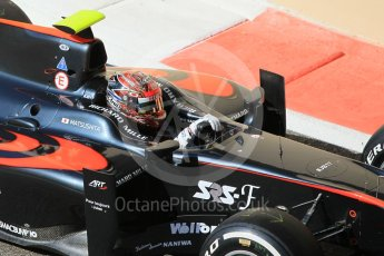 World © Octane Photographic Ltd. Friday 27th November 2015. ART Grand Prix – Nobuharu Matsushita. GP2 Practice, Yas Marina, Abu Dhabi. Digital Ref. : 1476CB1L4924