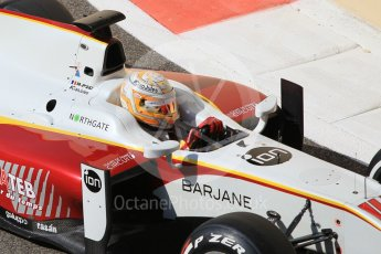 World © Octane Photographic Ltd. Friday 27th November 2015. Campos Racing – Arthur Pic. GP2 Practice, Yas Marina, Abu Dhabi. Digital Ref. : 1476CB1L4930
