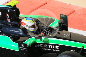 World © Octane Photographic Ltd. Friday 27th November 2015. Status Grand Prix – Oliver Rowland. GP2 Practice, Yas Marina, Abu Dhabi. Digital Ref. : 1476CB1L4937