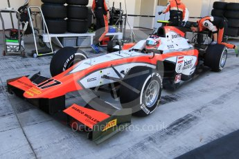 World © Octane Photographic Ltd. Friday 27th November 2015. MP Motorsport – Rene Binder. GP2 Practice, Yas Marina, Abu Dhabi. Spain. Digital Ref. : 1476CB7D1523