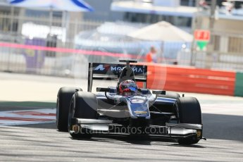 World © Octane Photographic Ltd. Friday 27th November 2015. Russian Time – Mitch Evans. GP2 Practice, Yas Marina, Abu Dhabi. Digital Ref. : 1476LB1D5698