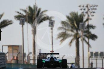 World © Octane Photographic Ltd. Friday 27th November 2015. Status Grand Prix – Sandy Stuvik. GP3 Qualifying - Yas Marina, Abu Dhabi. Digital Ref. : 1479CB1L5362