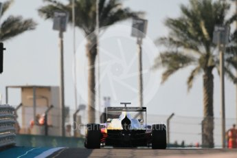 World © Octane Photographic Ltd. Friday 27th November 2015. Campos Racing – Zaid Ashkanani. GP3 Qualifying - Yas Marina, Abu Dhabi. Digital Ref. : 1479CB1L5389
