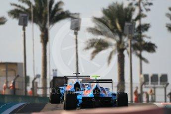 World © Octane Photographic Ltd. Friday 27th November 2015. Jenzer Motorsport – Pal Varhaug and Matheo Tuscher. GP3 Qualifying - Yas Marina, Abu Dhabi. Digital Ref. : 1479CB1L5409