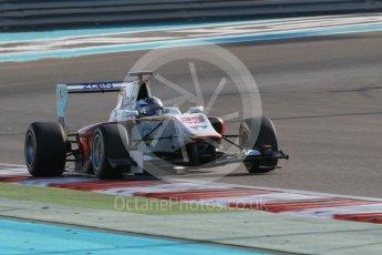 World © Octane Photographic Ltd. Friday 27th November 2015. Campos Racing – Zaid Ashkanani. GP3 Qualifying - Yas Marina, Abu Dhabi. Digital Ref. : 1479CB1L5461