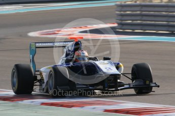 World © Octane Photographic Ltd. Friday 27th November 2015. Carlin – Mitchell Gilbert. GP3 Qualifying - Yas Marina, Abu Dhabi. Digital Ref. : 1479CB1L5485
