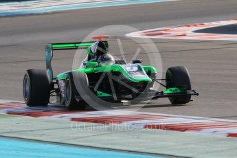 World © Octane Photographic Ltd. Friday 27th November 2015. Status Grand Prix – Sandy Stuvik. GP3 Qualifying - Yas Marina, Abu Dhabi. Digital Ref. : 1479CB1L5523