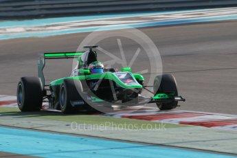 World © Octane Photographic Ltd. Friday 27th November 2015. Status Grand Prix – Seb Morris. GP3 Qualifying - Yas Marina, Abu Dhabi. Digital Ref. : 1479CB1L5529