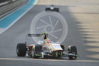 World © Octane Photographic Ltd. Friday 27th November 2015. Campos Racing – Alex Palou. GP3 Qualifying - Yas Marina, Abu Dhabi. Digital Ref. : 1479CB1L5601