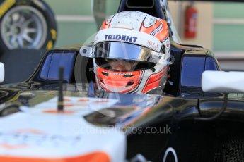 World © Octane Photographic Ltd. Friday 27th November 2015. Trident – Luca Ghiotto. GP3 Practice - Yas Marina, Abu Dhabi. Digital Ref. : 1475CB1L4459