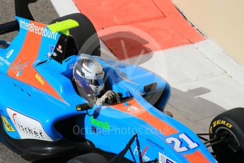World © Octane Photographic Ltd. Friday 27th November 2015. Jenzer Motorsport – Matheo Tuscher. GP3 Practice - Yas Marina, Abu Dhabi. Digital Ref. : 1475CB1L4614