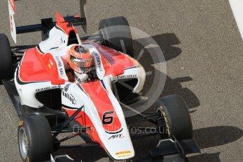 World © Octane Photographic Ltd. Friday 27th November 2015. ART Grand Prix – Esteban Ocon. GP3 Practice - Yas Marina, Abu Dhabi. Digital Ref. : 1475CB1L4638