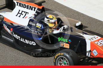 World © Octane Photographic Ltd. Friday 27th November 2015. Trident – Artur Janosz. GP3 Practice - Yas Marina, Abu Dhabi. Digital Ref. : 1475CB1L4714