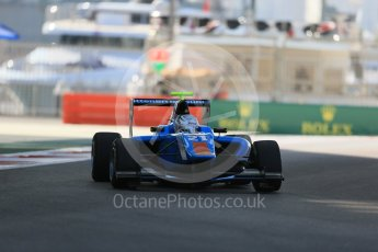 World © Octane Photographic Ltd. Friday 27th November 2015. Jenzer Motorsport – Matheo Tuscher. GP3 Practice - Yas Marina, Abu Dhabi. Digital Ref. : 1475LB1D5183