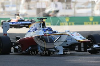 World © Octane Photographic Ltd. Friday 27th November 2015. Campos Racing – Zaid Ashkanani. GP3 Practice - Yas Marina, Abu Dhabi. Digital Ref. : 1475LB1D5226