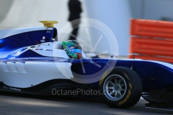 World © Octane Photographic Ltd. Friday 27th November 2015. Carlin – Adderly Fong, GP3 Practice - Yas Marina, Abu Dhabi. Digital Ref. : 1475LB1D5313