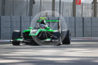 World © Octane Photographic Ltd. Friday 27th November 2015. Status Grand Prix – Alex Fontana. GP3 Practice - Yas Marina, Abu Dhabi. Digital Ref. : 1475LB1D5494