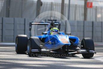World © Octane Photographic Ltd. Friday 27th November 2015. Jenzer Motorsport – Pal Varhaug. GP3 Practice - Yas Marina, Abu Dhabi. Digital Ref. : 1475LB1D5549