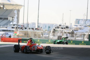 World © Octane Photographic Ltd. Friday 27th November 2015. Arden International – Emil Bernstorff. GP3 Practice - Yas Marina, Abu Dhabi. Digital Ref. : 1475LB5D3866