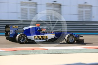 World © Octane Photographic Ltd. Friday 27th November 2015. Carlin – Mitchell Gilbert. GP3 Practice - Yas Marina, Abu Dhabi. Digital Ref. : 1475LB5D3890
