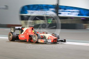 World © Octane Photographic Ltd. Friday 27th November 2015. Arden International – Andre Negrao. GP2 Qualifying, Yas Marina, Abu Dhabi. Digital Ref. : 1481CB1L5974