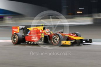 World © Octane Photographic Ltd. Friday 27th November 2015. Racing Engineering – Alexander Rossi. GP2 Qualifying, Yas Marina, Abu Dhabi. Digital Ref. : 1481CB1L5987