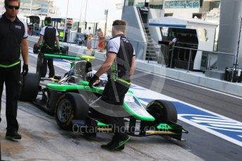 World © Octane Photographic Ltd. Saturday 28th November 2015. Status Grand Prix – Seb Morris. GP3 Race 1 - Yas Marina, Abu Dhabi. Digital Ref. :