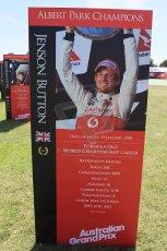 World © Octane Photographic Ltd. Wednesday 11th March 2015, F1 Australian GP, Melbourne, Albert Park, Australia, Jenson Button. Digital Ref: 1197LW1L5566