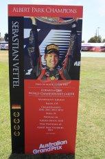 World © Octane Photographic Ltd. Wednesday 11th March 2015, F1 Australian GP, Melbourne, Albert Park, Australia, Sebastian Vettel. Digital Ref: 1197LW1L5569
