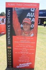 World © Octane Photographic Ltd. Wednesday 11th March 2015, F1 Australian GP, Melbourne, Albert Park, Australia, Michael Schumacher. Digital Ref: 1197LW1L5578