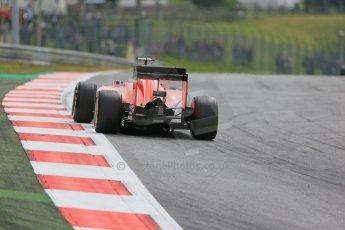 World © Octane Photographic Ltd. Scuderia Ferrari SF15-T– Sebastian Vettel. Friday 19th June 2015, F1 Austrian GP Practice 1, Red Bull Ring, Spielberg, Austria. Digital Ref: 1304LB1D5394