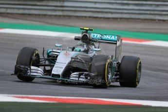 World © Octane Photographic Ltd. Mercedes AMG Petronas F1 W06 Hybrid – Nico Rosberg. Friday 19th June 2015, F1 Practice 1, Red Bull Ring, Spielberg, Austria. Digital Ref: 1304LB1D5633