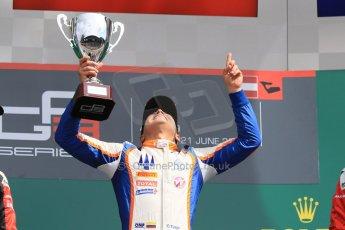 World © Octane Photographic Ltd. Sunday 21st June 2015. Trident – Oscar Tunjo. GP3 Race 2 – Red Bull Ring, Spielberg, Austria. Digital Ref. : 1316CB7D6959