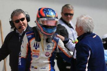 World © Octane Photographic Ltd. Sunday 21st June 2015. Trident – Oscar Tunjo. GP3 Race 2 – Red Bull Ring, Spielberg, Austria. Digital Ref. : 1316LB1D8912