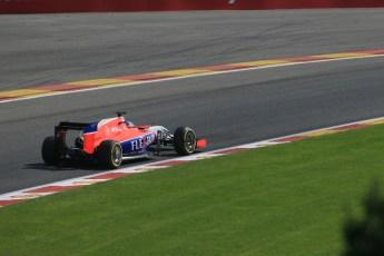 World © Octane Photographic Ltd. Manor Marussia F1 Team MR03B – William Stevens. Saturday 22nd August 2015, F1 Belgian GP Qualifying, Spa-Francorchamps, Belgium. Digital Ref: 1382LB1D0444