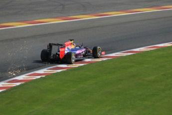 World © Octane Photographic Ltd. Infiniti Red Bull Racing RB11 – Daniel Ricciardo. Saturday 22nd August 2015, F1 Belgian GP Qualifying, Spa-Francorchamps, Belgium. Digital Ref: 1382LB1D0511