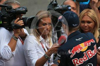 World © Octane Photographic Ltd. FIA Drivers' Press Conference. Thursday 23rd July 2015, F1 Belgian GP, Spa-Francorchamps, Belgium. Danill Kvyat - Infiniti Red Bull Racing. Digital Ref: 1371LB1D7384