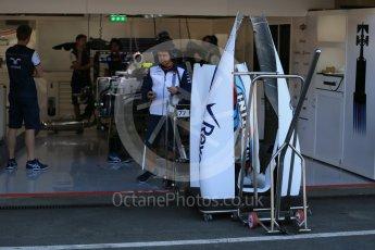 World © Octane Photographic Ltd. Williams Martini Racing FW37 – Valtteri Bottas. Thursday 20th August 2015, F1 Belgian GP Pitlane, Spa-Francorchamps, Belgium. Digital Ref: 1370LB1D6781