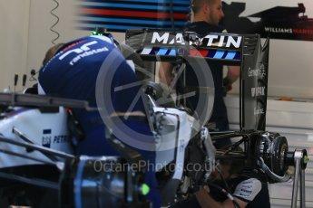 World © Octane Photographic Ltd. Williams Martini Racing FW37 – Felipe Massa. Thursday 20th August 2015, F1 Belgian GP Pitlane, Spa-Francorchamps, Belgium. Digital Ref: 1370LB1D6783