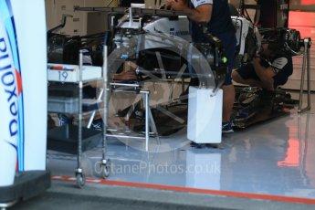 World © Octane Photographic Ltd. Williams Martini Racing FW37 – Felipe Massa. Thursday 20th August 2015, F1 Belgian GP Pitlane, Spa-Francorchamps, Belgium. Digital Ref: 1370LB1D6791