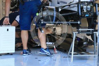 World © Octane Photographic Ltd. Williams Martini Racing FW37 – Felipe Massa. Thursday 20th August 2015, F1 Belgian GP Pitlane, Spa-Francorchamps, Belgium. Digital Ref: 1370LB1D6813