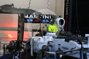 World © Octane Photographic Ltd. Williams Martini Racing FW37 – Felipe Massa. Thursday 20th August 2015, F1 Belgian GP Pitlane, Spa-Francorchamps, Belgium. Digital Ref: 1370LB1D6828