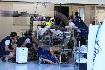 World © Octane Photographic Ltd. Williams Martini Racing FW37 – Felipe Massa. Thursday 20th August 2015, F1 Belgian GP Pitlane, Spa-Francorchamps, Belgium. Digital Ref: 1370LB1D6834